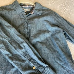 Madewell Chambray Button-Up